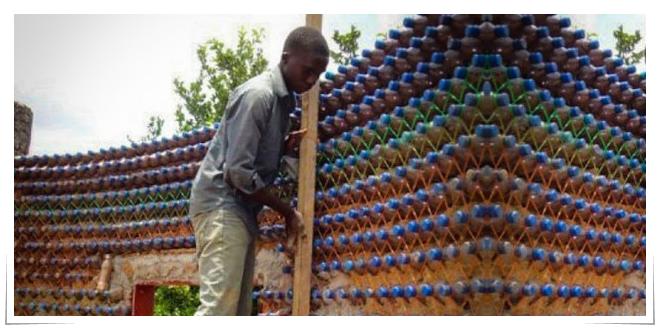 Photo of Viviendas plásticas en Nigeria