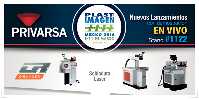 Photo of Privarsa efectuará demostraciones en vivo durante Plastimagen 2016