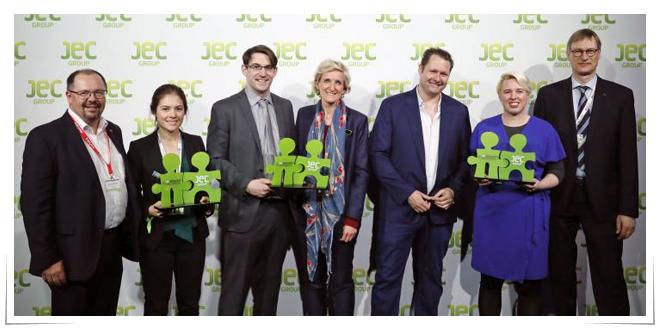 Photo of Las startups ganadoras en JEC WORLD 2018