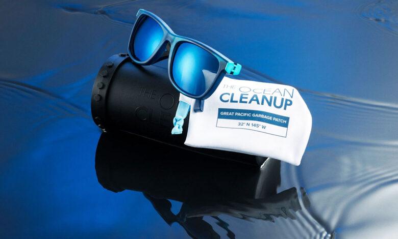 Con gafas hecha con plástico reciclado buscan limpiar los mares