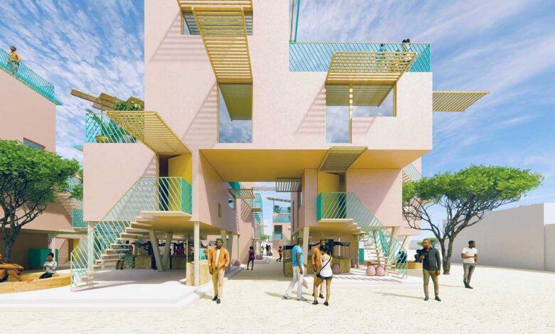 ONU Hábitat busca construir miles de casas con plástico reciclado