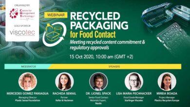Webinar: Envases Reciclados para Contacto Alimentario