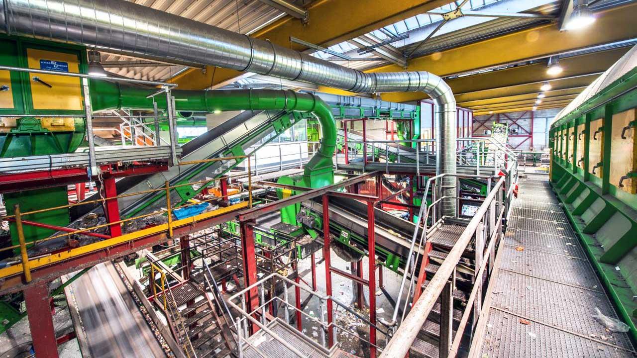 Separador balístico: pioneros en plantas de reciclaje