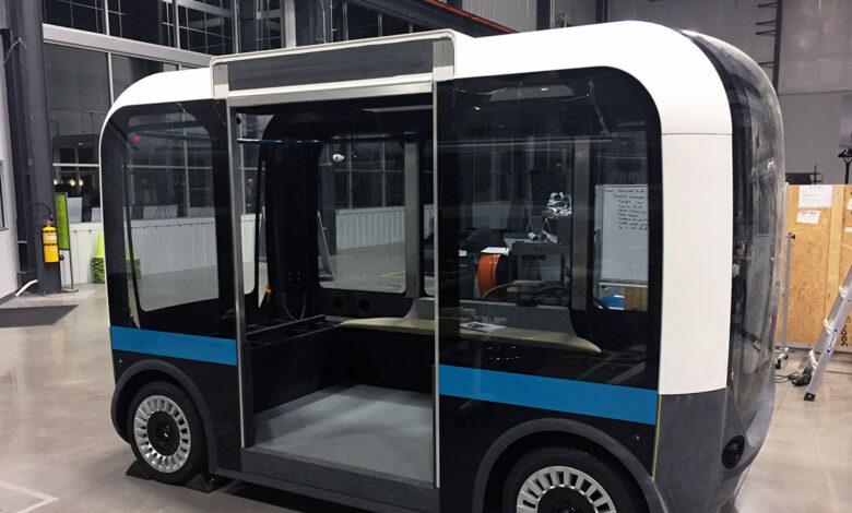 Local Motors crea Olli, el transporte público impreso en 3D