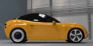 Luca auto eléctrico