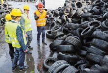 BASF y New Energy obtendrán aceite de pirolisis de neumáticos de desecho