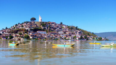 """""""Cero Plásticos: Pienso, luego Reciclo"""", una campaña para limpiar el Lago de Pátzcuaro"""