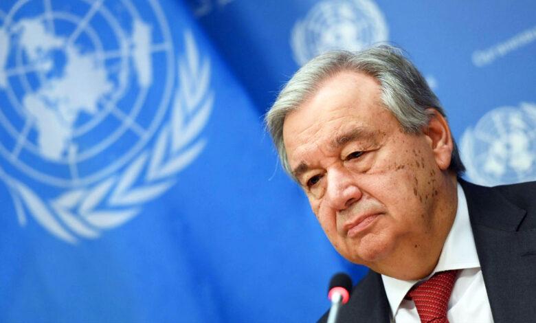 António Guterres, secretario de la ONU, pide impulsar el desarrollo sostenible