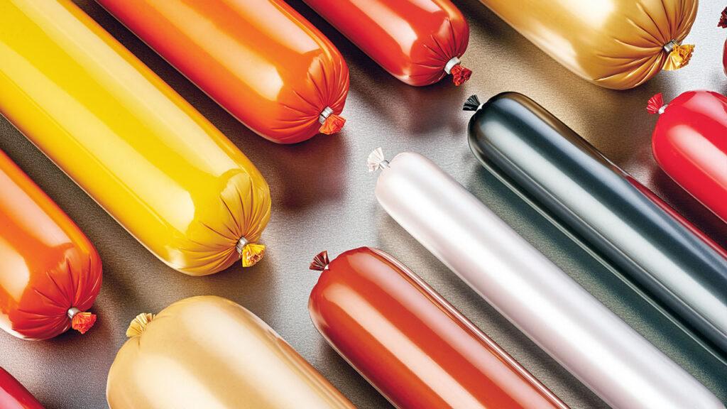 material de envasado de carne a partir de plásticos postconsumo