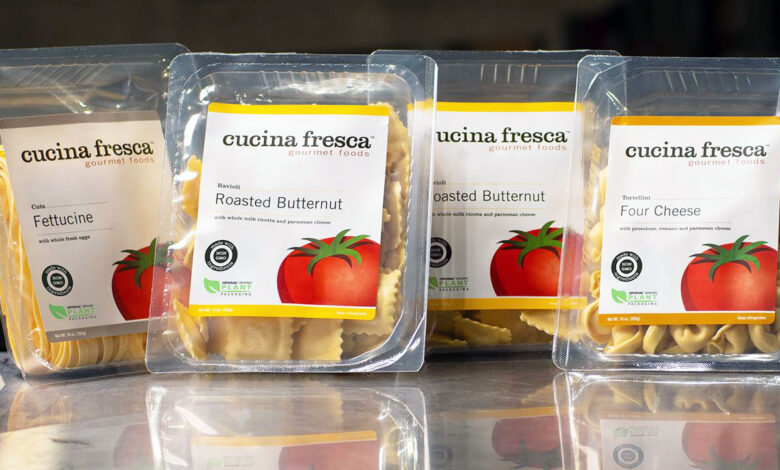 Bioplásticos mejoran la huella sostenible en envases de pasta