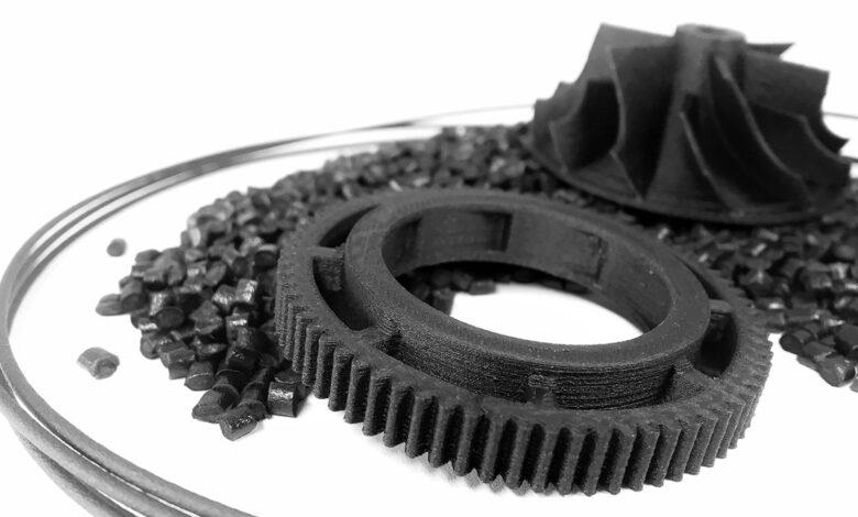 Plásticos de impresión 3D contra incendios para el sector ferroviario