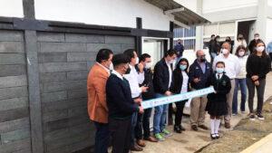"""Tu Reciclaje Construye Mi Futuro"" inaugura la primer aula 100% ecológica"