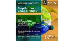 Webinar Gratuito Entec Resins México: Bioplásticos Compostables, una Solución Sustentable