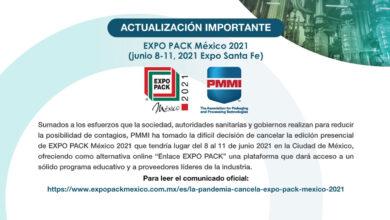 EXPO PACK México 2021 cancela su evento presencial por COVID-19