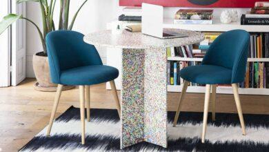 Revolución Limo crea muebles de interior hechos con plástico reciclado