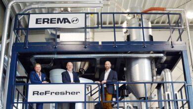 Aumenta la demanda de sistemas de reciclaje con tecnología EREMA ReFresher