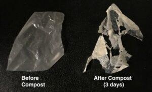 Enzimas que comen poliéster aceleran la desintegración de plásticos biodegradables