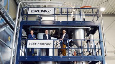 Aumenta la demanda de máquinas de reciclaje EREMA con