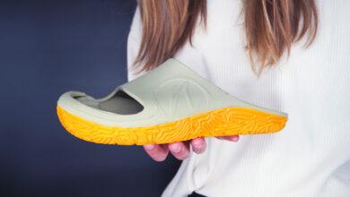recoveryToes: la sandalia de recuperación hecha de Poliuretano