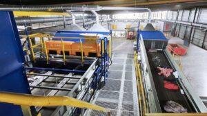 la primera planta de clasificación textil automatizada del mundo