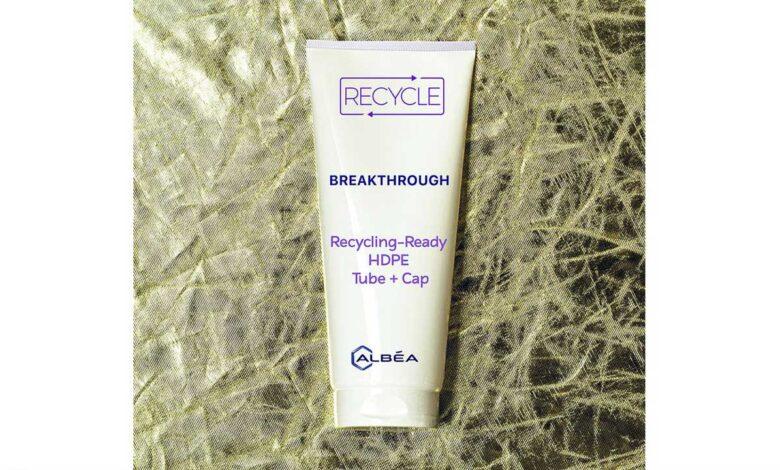 Albéa crea un paquete de monomateriales reciclables para marcas de belleza