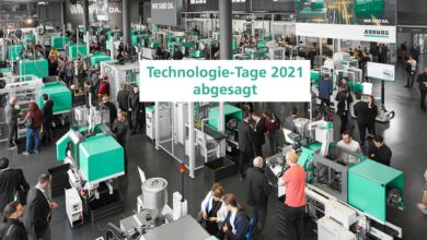 Debido al COVID-19, Arburg cancela su evento Technology Days 2021