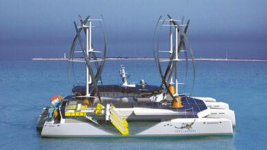 """""""El Manta"""": un catamarán que recogerá y procesará plásticos marinos"""