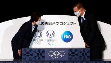 Presentan los podios de los Juegos Olímpicos de Tokio hechos con plásticos usados