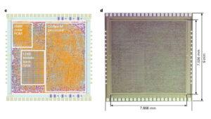 Así es el primer procesador hecho de plástico en lugar de silicio