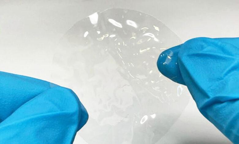 Científicos crean bioplástico a partir de celulosa y agua