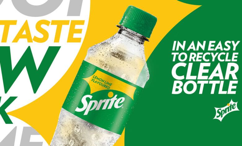 La nueva botella Sprite ayuda a limpiar los destinos turísticos de México