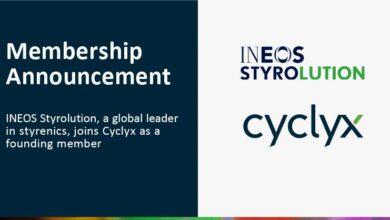 INEOS Styrolution se une a Cyclyx como miembro fundador