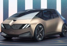 i Vision Circular: la visión de BMW para el auto eléctrico del futuro