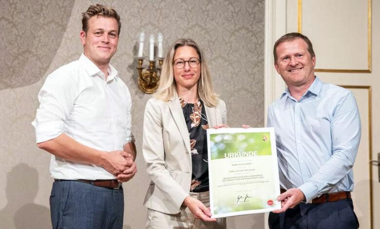 ENGEL AUSTRIA gana el Premio Estatal de Medio Ambiente 2021